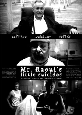 affiche LES PETITS SUICIDES DE M. RAOUL///Mr. RAOUL'S LITTLE SUICIDES